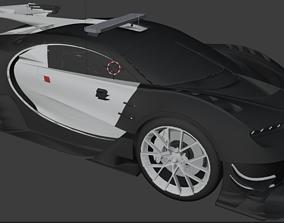 3D model Seacrest Police bugatti
