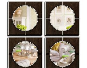 Mirrors Set 36 3D model