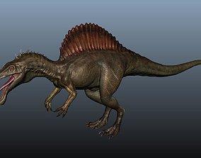 3D model Spinosaurus dragon