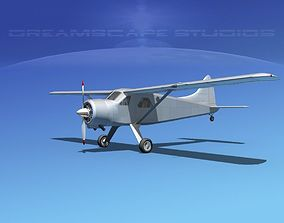 3D model Dehaviland DH-2 Bare Metal