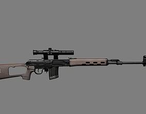 3D model Dragunov SVD Gun
