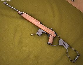 3D model Inland M1A1 Carbine