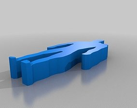 one print human 3D printable model