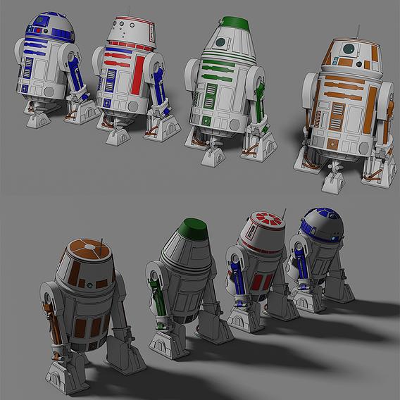 Astromech - Star Wars - Fan Art