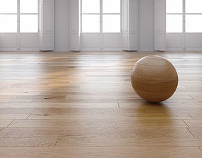 Oak Natural floor 3D