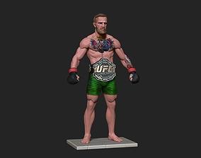 3D printable model Conor McGregor