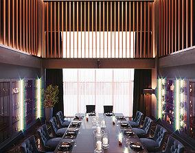 3D VIP room interior