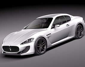 Maserati GranTurismo MC Stradale 2012 3D Model