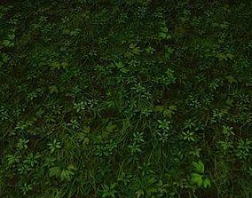 ground grass tile 11 3D