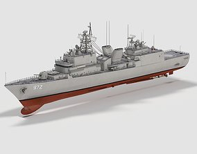 ROKS Eulji Mundeok DDH-972 3D model