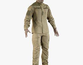 Soldier Uniform Desert 3D asset