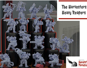 3D printable model The Harvesters - Heavy Reapers
