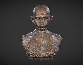 Gandhi by Karmarkar 3D model