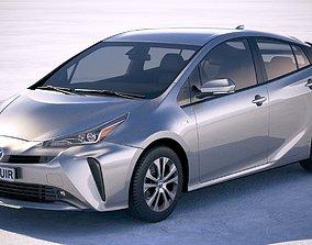 Toyota Prius 2019 3D