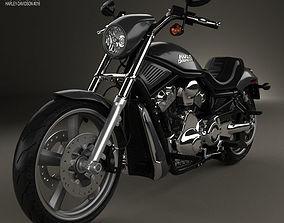 Harley-Davidson VRSCD Night Rod 2006 3D