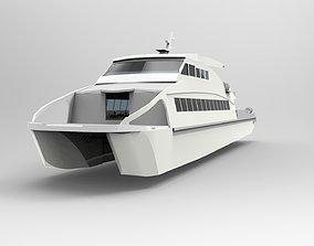 3D print model Ferry Catamaran Hull