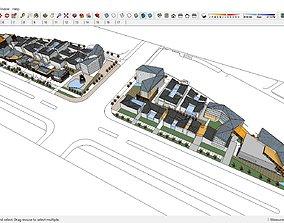 Sketchup 214 - Commercial street 3D model
