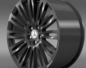 Mercedes Benz S 600 rim 3D