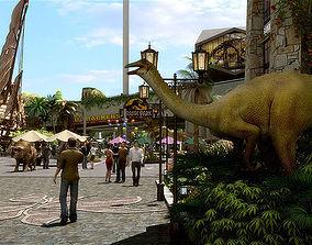 Amusement Park 03 3D model
