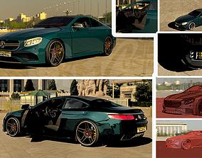 Mercedes s63 Amg Coupe 3D car