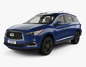 Infiniti QX60 with HQ interior 2016 3D