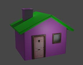 Small fairytale house 3D