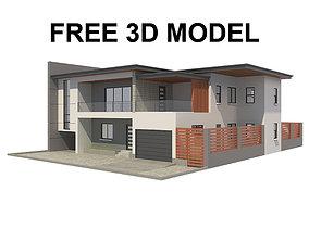 3D model Modern House 5