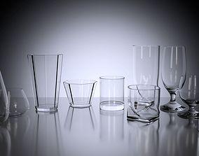 3D model Pack of Glasses