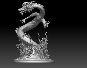 chinese dragon 3D printable model