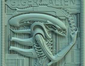 Panno Gigers alien ver02 3D