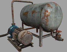3D asset Pump station pack