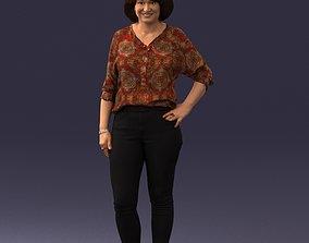 Woman posed 0219 3D Print Ready