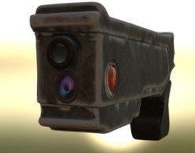 3D model Sci-Fi laser gun
