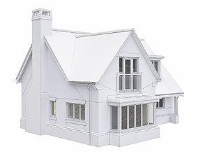 3D model Neighborhood Houses P32
