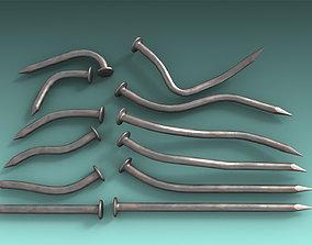 3D model Nails