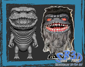 Critters Open Mouth 3D print zbrush