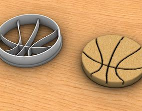 Basketball Coockie Cutter 3D print model