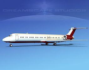 3D McDonnell Douglas MD-87 Corporate 7