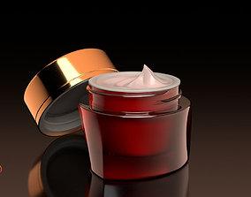 Creme Jar v003 3D