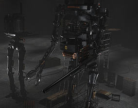3D model Dreadnought MK3