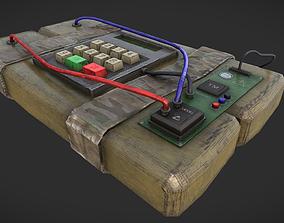 C4 Bomb 3D asset
