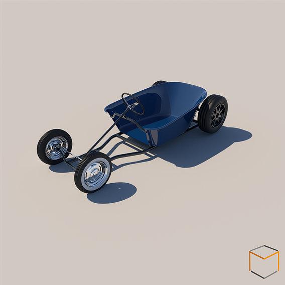 Wheelbarrow soapbox