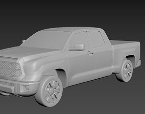 3D printable model Toyota Tundra 2020 on a small scale