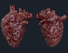 3D model Heart Human Organ Game Ready 08