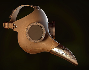 3D model The Plague Doctor Mask