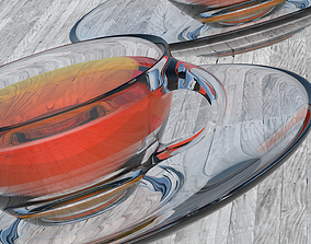 3D model Glass Tea Cup