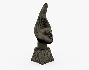 Queen Iyoba Head Sculpture 3D print model