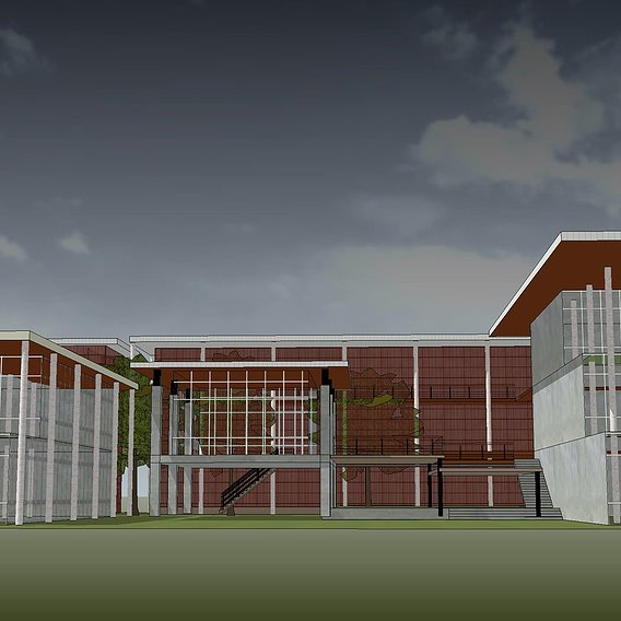 Draft concept for office building