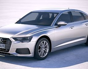 Audi A6 2019 3D model