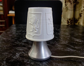 3D print model Lamp with Lion